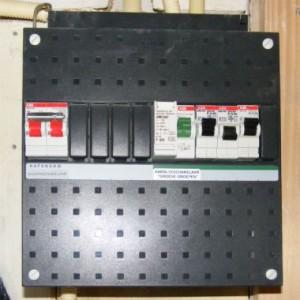 Meterkast spa storing